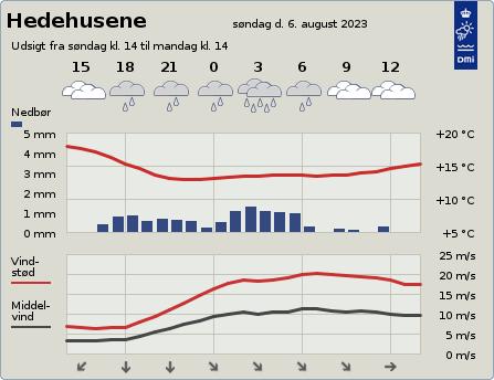 byvejr verdensvejr 2640 Hedehusene,Danmark