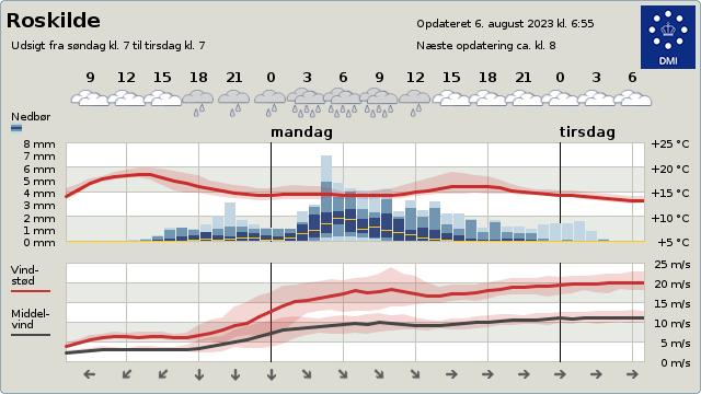 Byvejr Roskilde